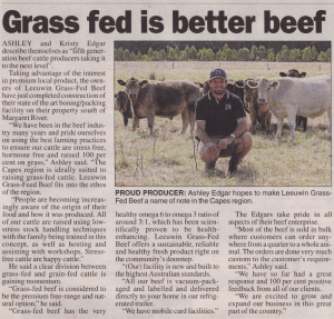 Leeuwin Grass-Fed Beef